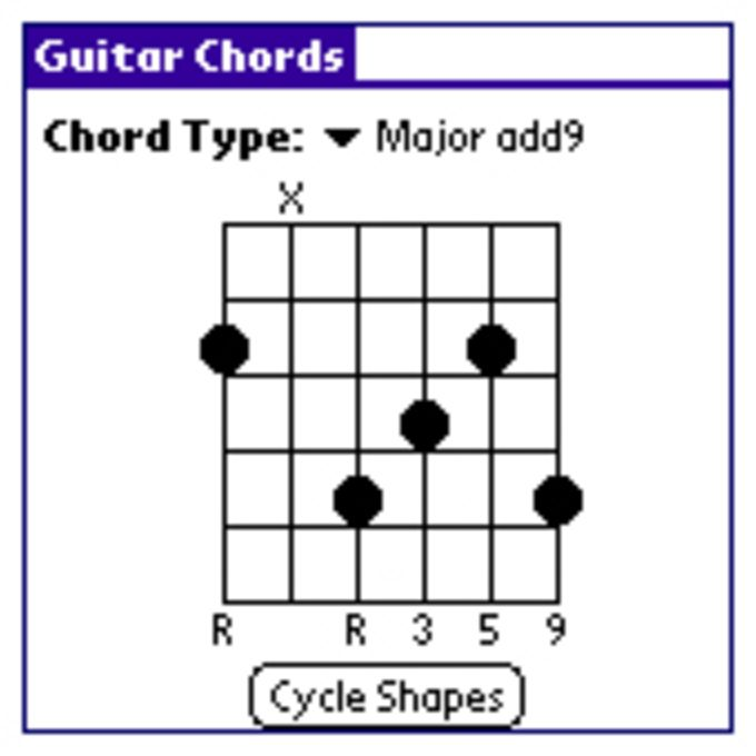 Guitar Chords for Palm OS - Download
