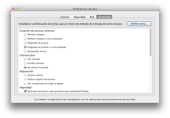 Java pour OS X