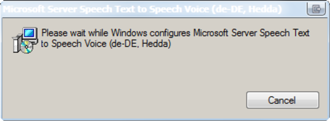 Microsoft Server Speech Text to Speech Voice (de-DE,Hedda)