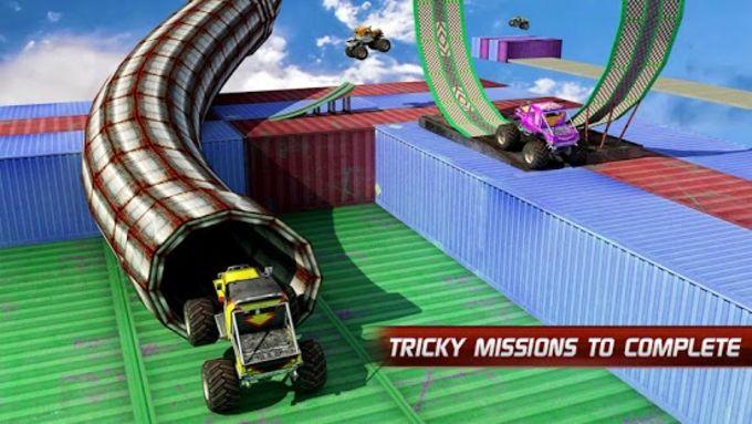 Monster Truck Stunt Impossible Tracks