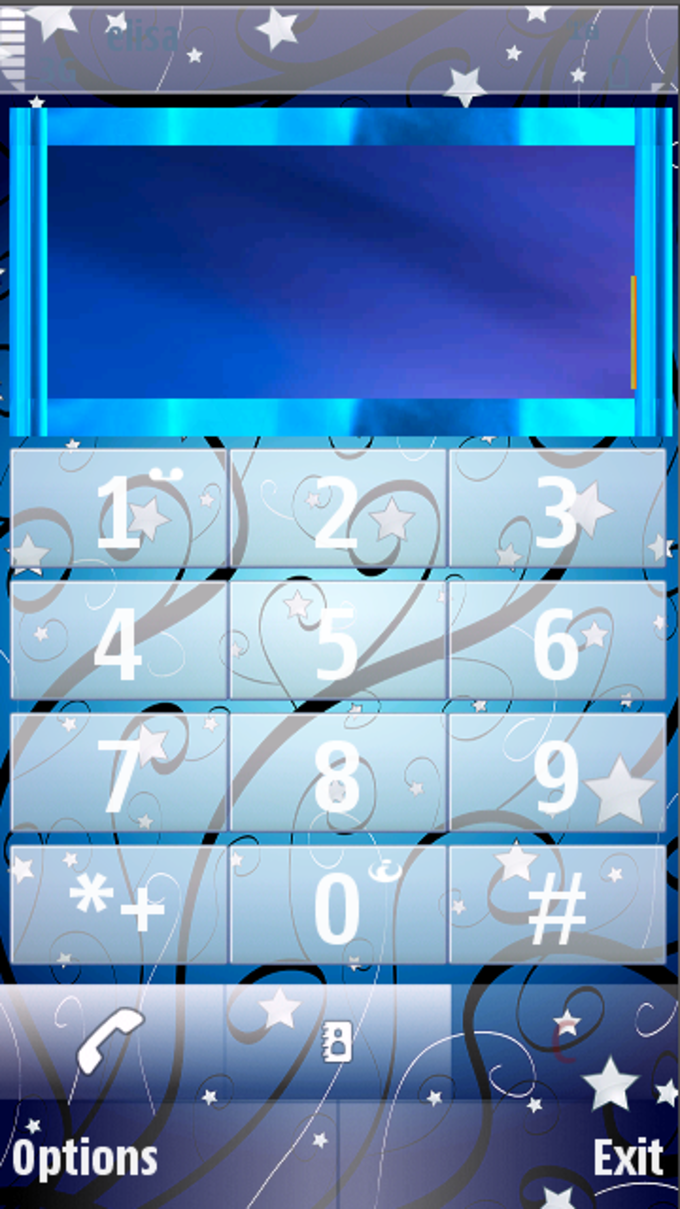 Abstract Stars Theme