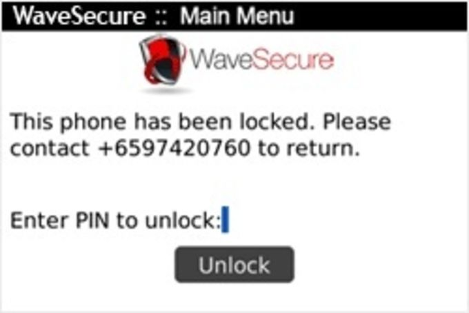 McAfee WaveSecure