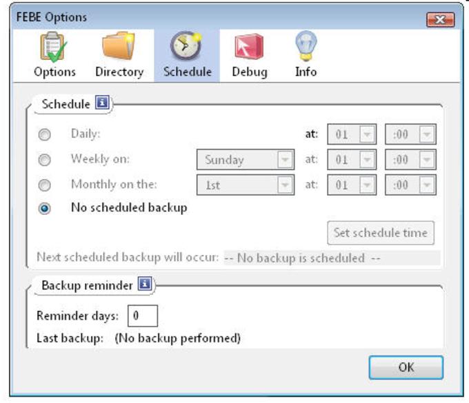 FEBE (Firefox Environment Backup Extension)