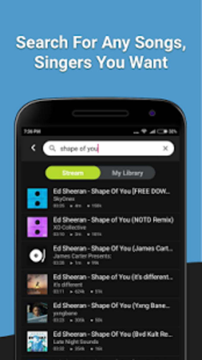 V Music - Free Song Player