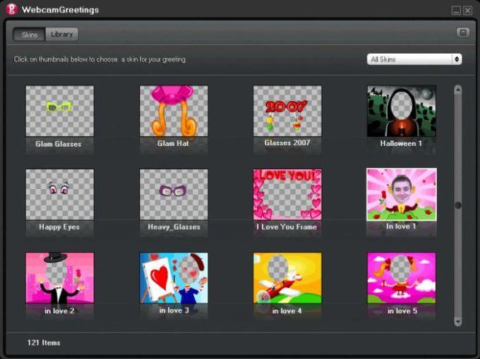 Webcam Greetings Studio
