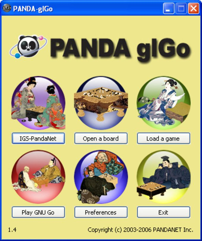 PANDA-glGo