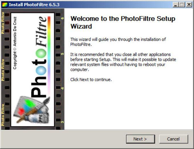 PhotoFiltre Portable