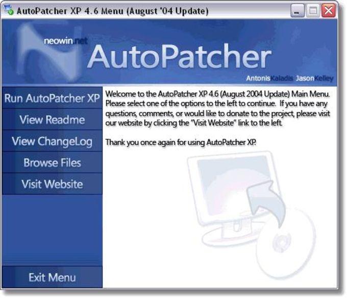 AutoPatcher XP April 2006