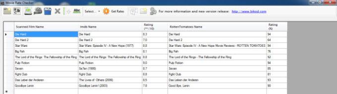Movie Rate Checker