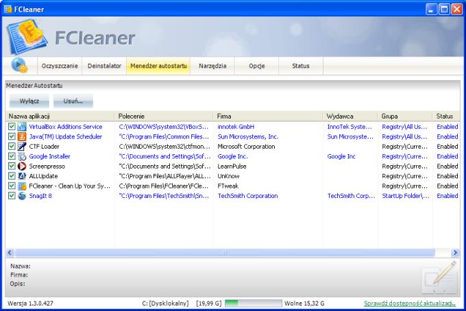 FCleaner Portable