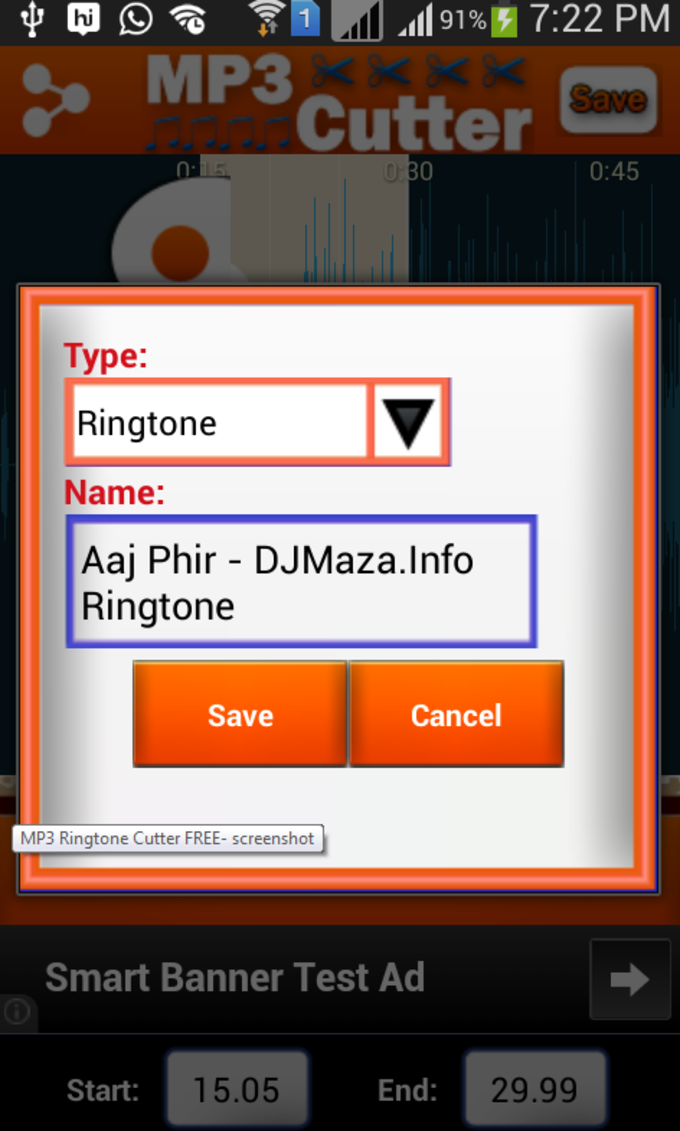 MP3 Ringtone Cutter FREE