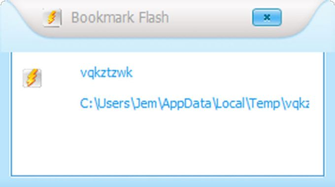 Bookmark Flash