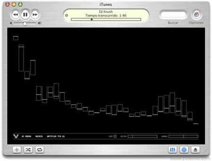 Volcano Kit iTunes Visualizer