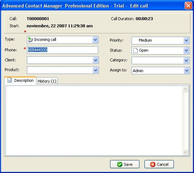 Advanced Contact Manager Personal