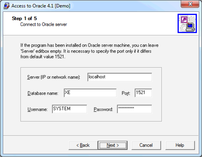 Access-to-Oracle