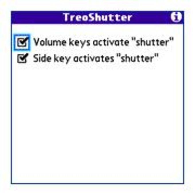 TreoShutter