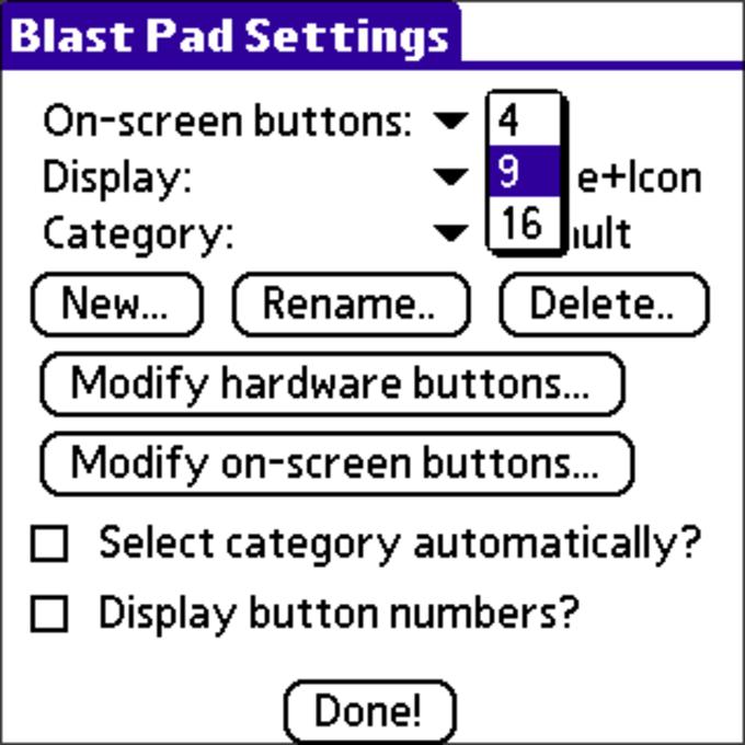 Blast Pad