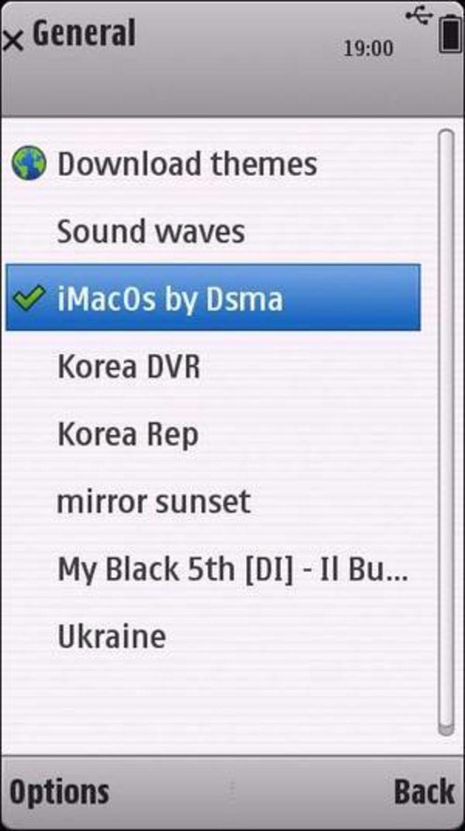 iMacOS Theme