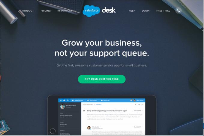 Desk com