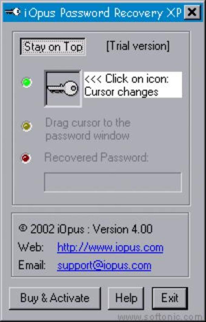 iOpus Password Recovery XP