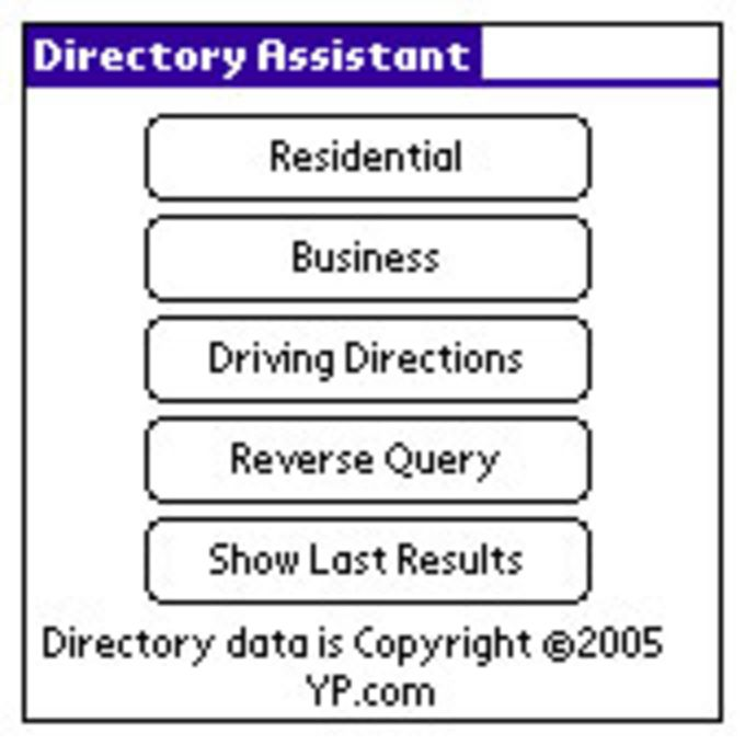 Directory Assistant