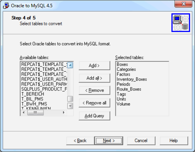 MySQL Migration Toolkit
