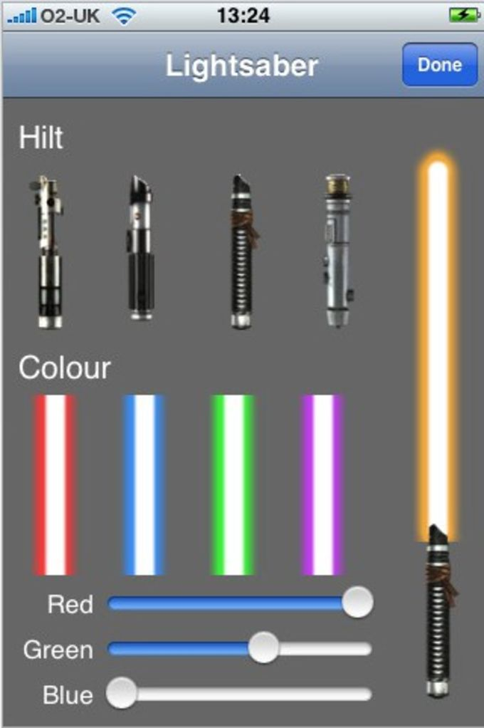 Lightsaber Unleashed For Iphone Download