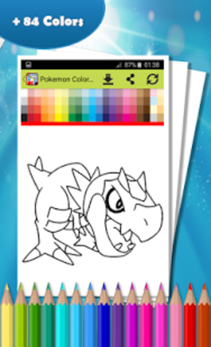 Coloring Book For Pokemon