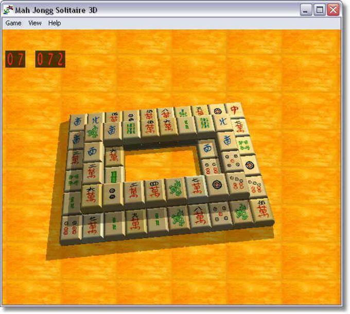 MahJongg Solitaire 3D