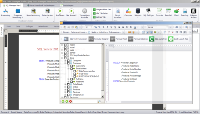 SQL Data Manager Studio
