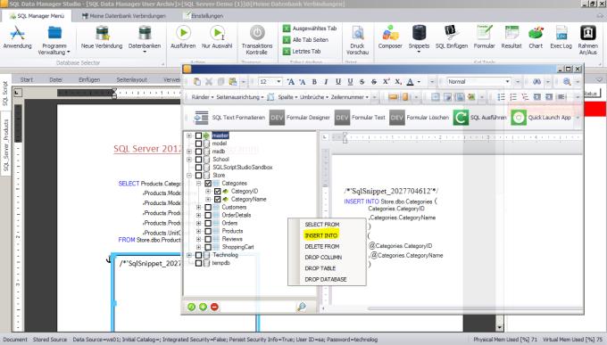 SQL Data Manager Studio