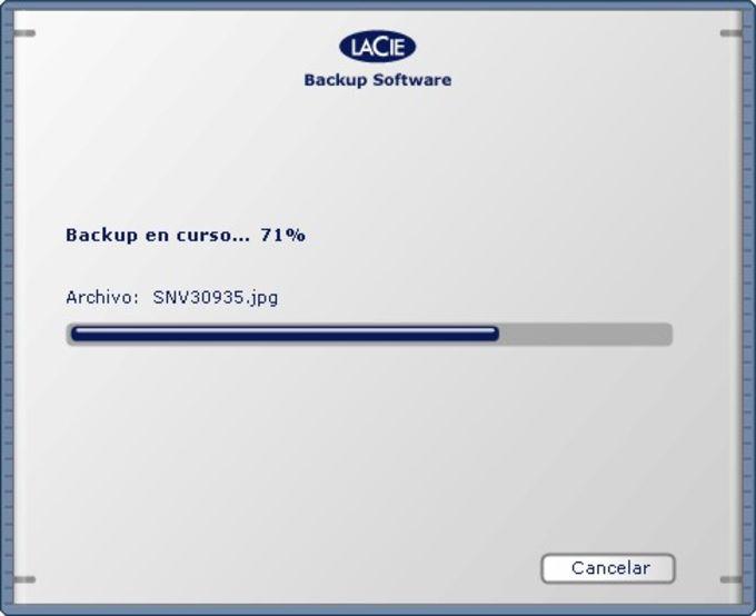 LaCie 1-Click Backup