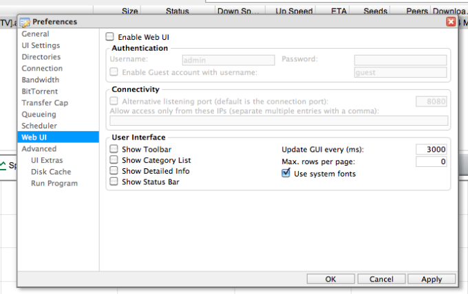 uTorrent Remote