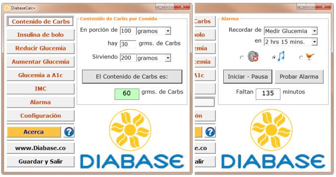 DiabaseCalc+ Esp
