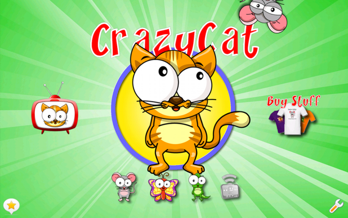 Crazy Cat - The Game for Cats!