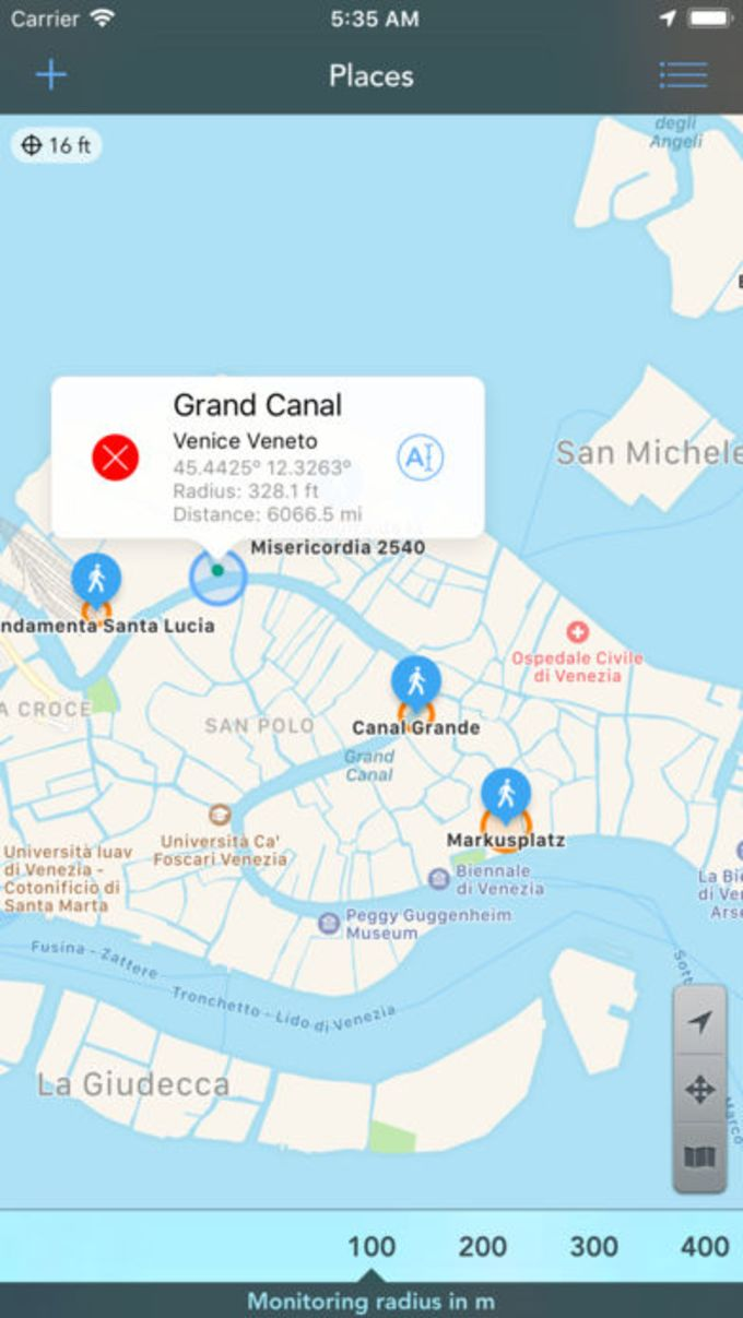 Geofency Time Tracking