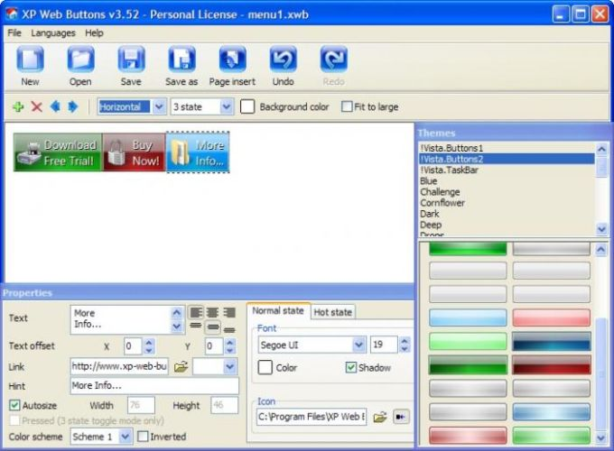 XP Web Buttons