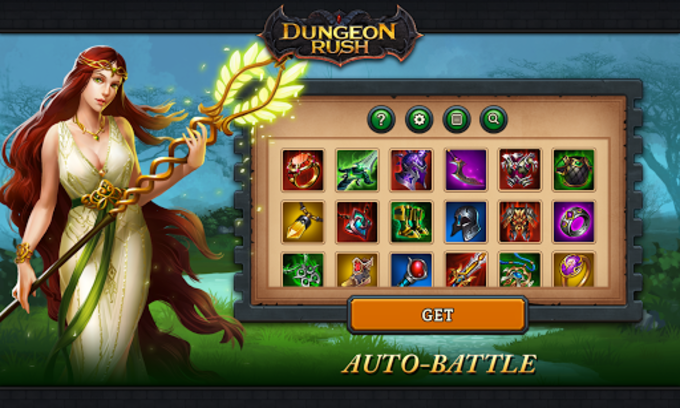 Dungeon Rush: Evolved