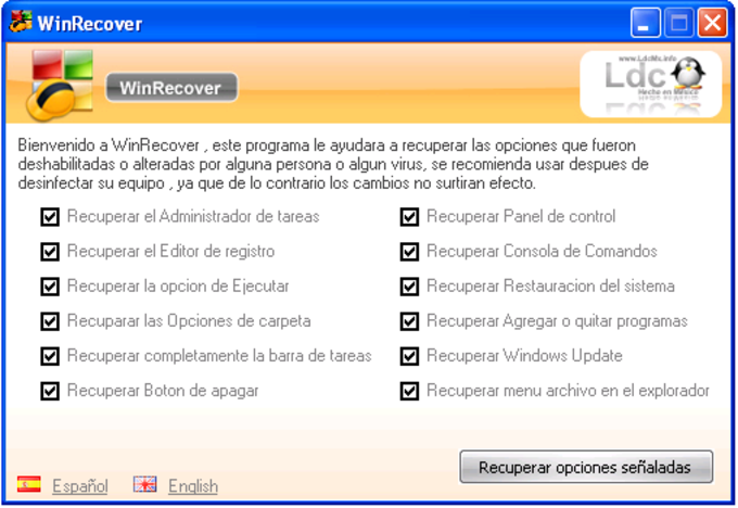 WinRecover