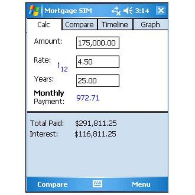 Mortgage SIM