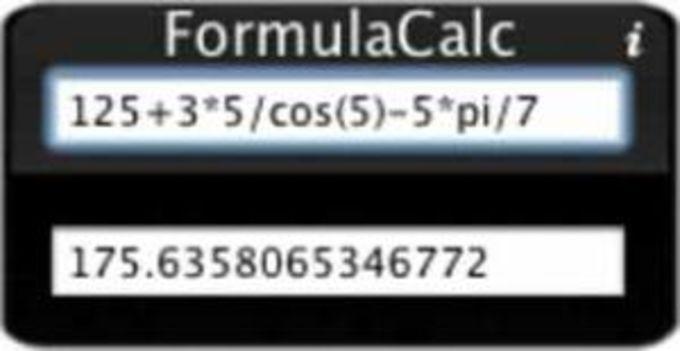 FormulaCalc