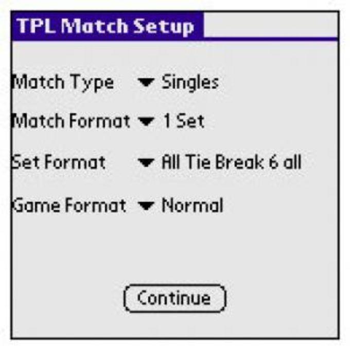 Tennis Point Logger
