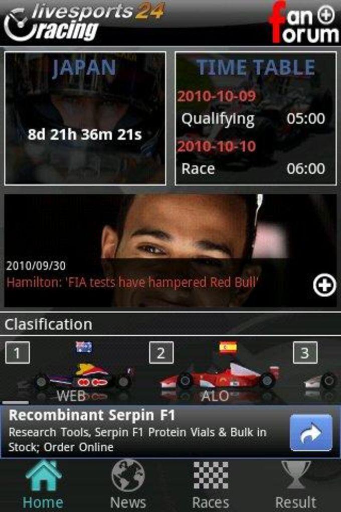Livesports24 F1™ Racing