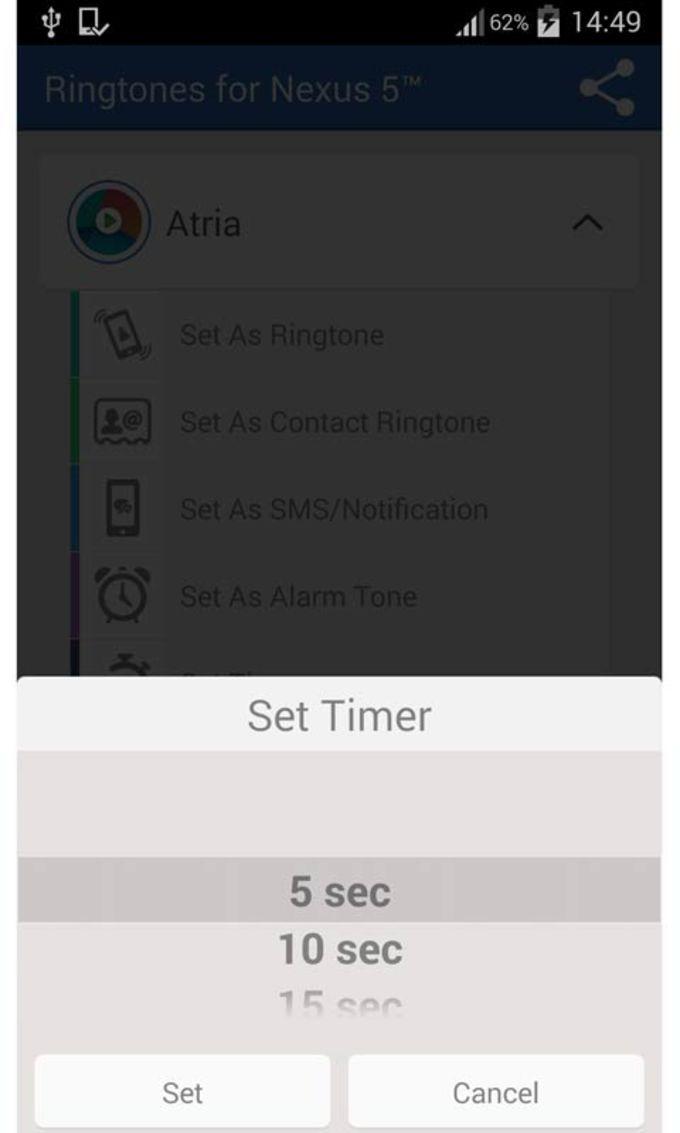 Free Ringtones for Nexus 5