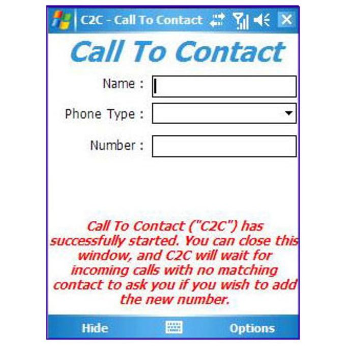 Call To Contact