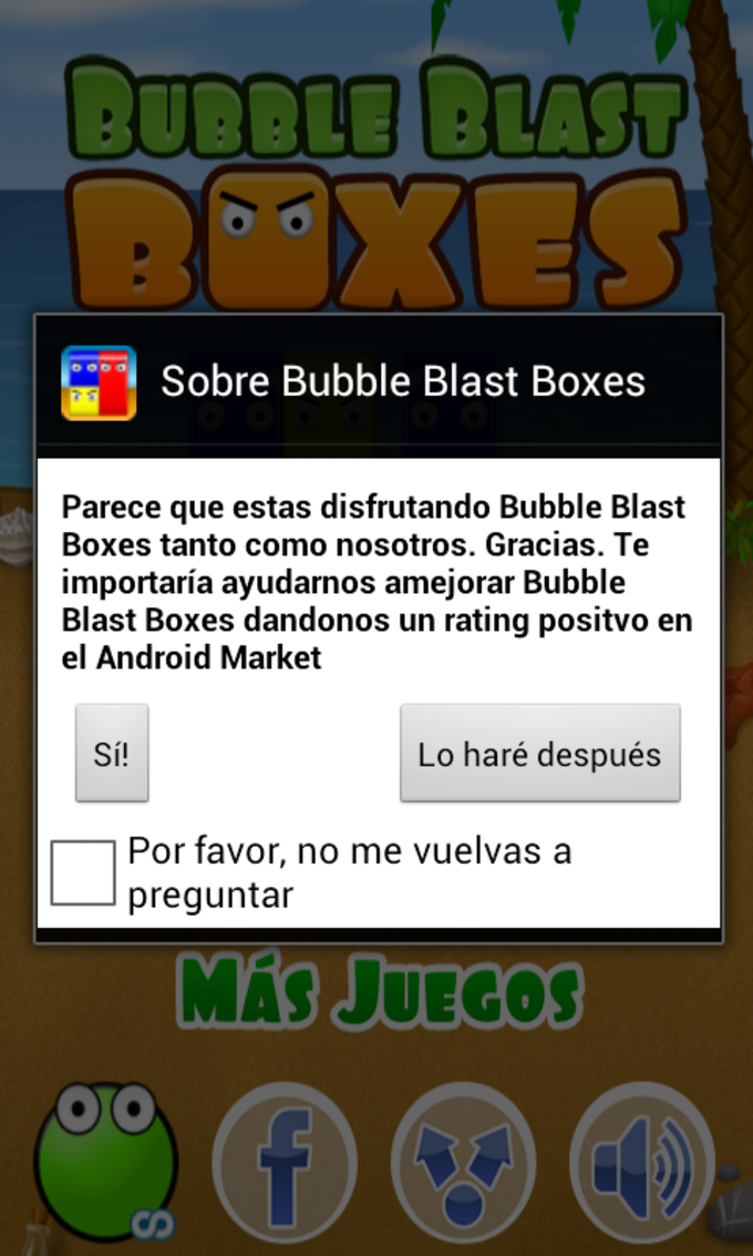 Bubble Blast Boxes