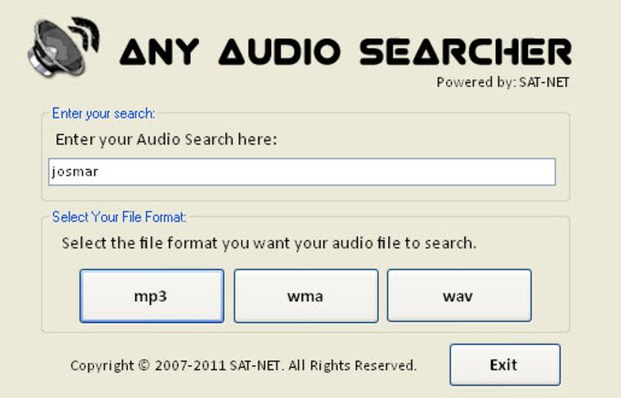Any Audio Searcher