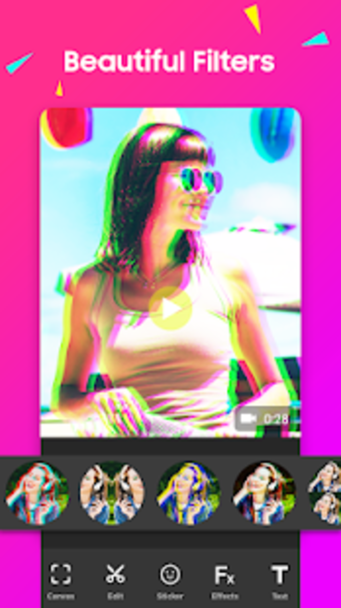 FilmMaker  Video Editor  Video Effects