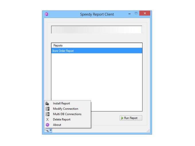 Speedy Report Client