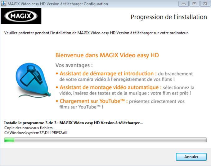 MAGIX Video easy HD